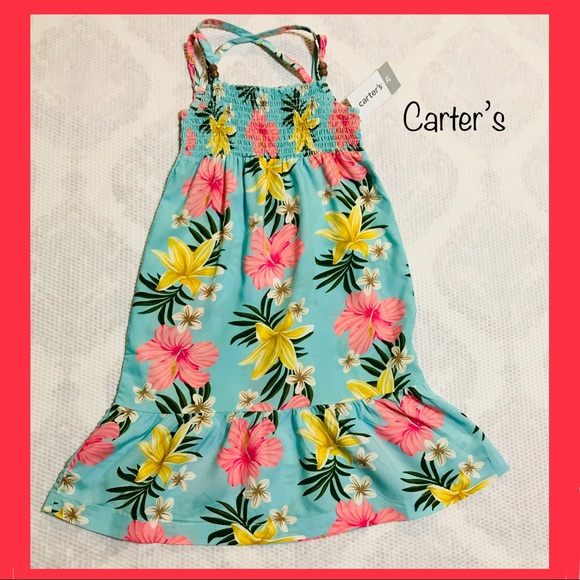 750569f08 Girls Maxi Dress (Carter's) NWT